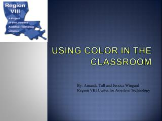 Using Color in the Classroom