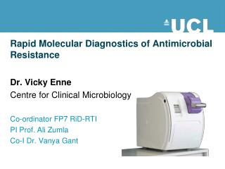 Rapid  Molecular Diagnostics  of Antimicrobial Resistance