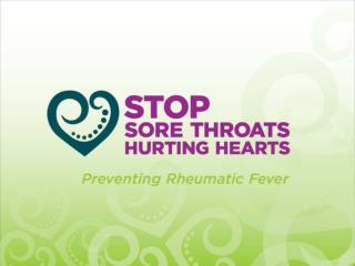 STOP SORE THROATS HURTING HEARTS