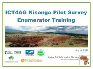 ICT4AG  Kisongo  Pilot Survey