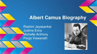 Albert Camus Biography