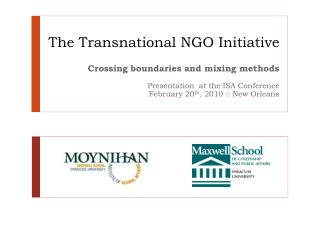The Transnational NGO Initiative