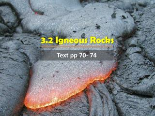 3.2 Igneous Rocks