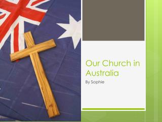 Our Church in Australia