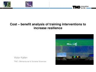 Cost – benefit analysis of training interventions to increase resilience