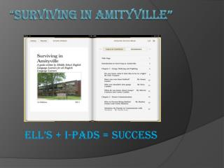 """ Surviving in Amityville"""