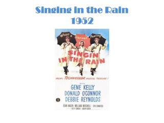 Singing in the Rain 1952