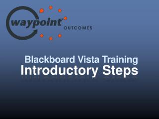 Blackboard Vista  Training