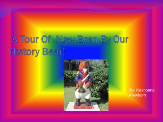 A Tour Of  New Bern By Our History Bear!
