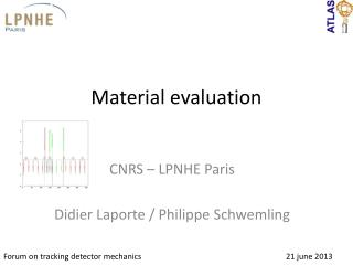 Material evaluation