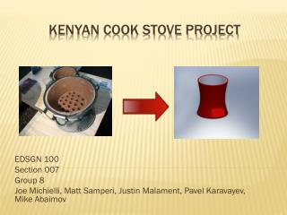 Kenyan Cook stove Project