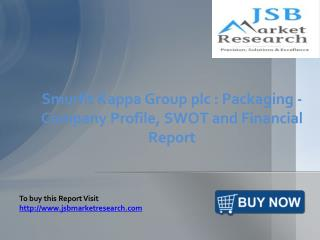 JSB Market Research: Smurfit Kappa Group plc