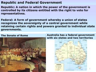 Republic and Federal Government