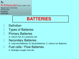 Silver-Zinc The Fully Recyclable Battery