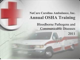 NuCare Carolina Ambulance, Inc. Annual OSHA Training