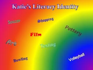 Katie's Literacy Identity