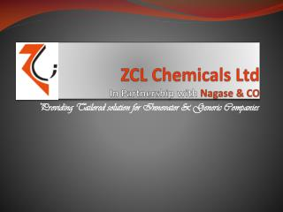 ZCL Chemicals Ltd - Chemical Manufacturing Company
