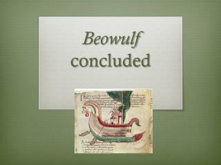 Beowulf  concluded
