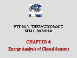 CHAPTER 4: Energy Analysis of Closed Systems