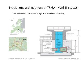 Irradiations with neutrons  at TRIGA \_Mark III  reactor