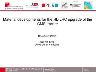 Material developments for the HL-LHC upgrade of the CMS tracker