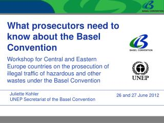 What prosecutors need to know about the Basel Convention
