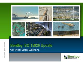 Bentley  ISO 15926 Update
