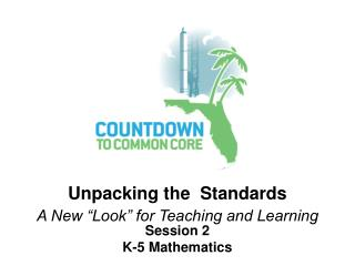Session 2 K-5 Mathematics
