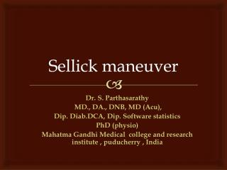 Sellick  maneuver