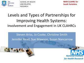 Steven Ariss , Jo Cooke, Christine Smith Jennifer Read, Sue Mawson , Susan Nancarrow