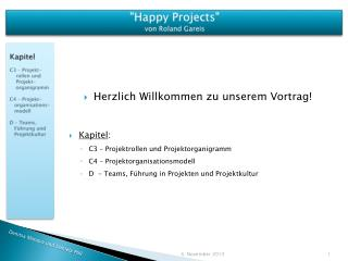 """Happy Projects""  von Roland  Gareis"