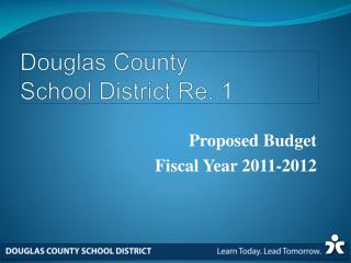 Douglas County School District Re. 1