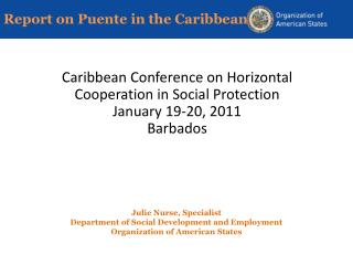 Report on Puente in the Caribbean