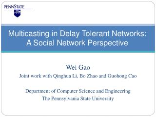 Multicasting in Delay Tolerant Networks: A Social Network Perspective