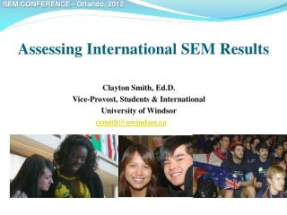 Assessing International SEM Results