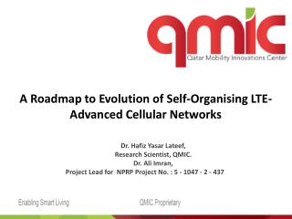 A Roadmap to Evolution of Self- Organising  LTE-Advanced Cellular Networks