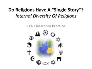 "Do Religions Have A ""Single Story""?  Internal Diversity Of Religions"