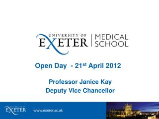 Open Day  - 21 st  April 2012