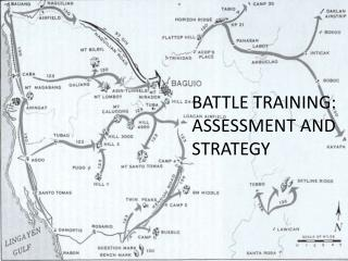 Battle Training: Assessment and Strategy