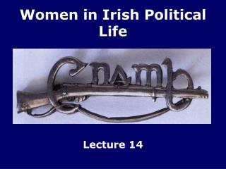 Women in Irish Political Life