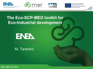 The Eco-SCP-MED toolkit for Eco-Industrial development