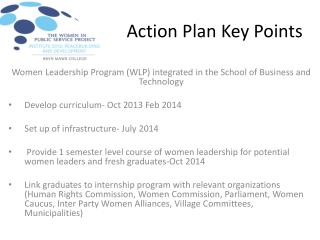 Action Plan Key Points