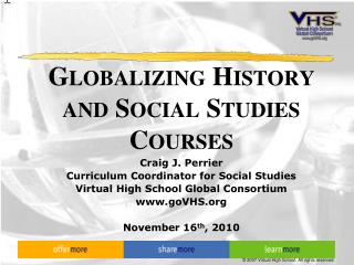 Globalizing History and Social Studies Courses