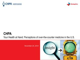 CHPA Your Health at Hand: Perceptions of over-the-counter medicine in the U.S.