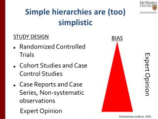 Simple hierarchies are (too) simplistic