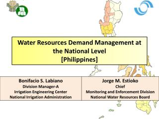 Water Resources Demand Management at the National Level [Philippines]