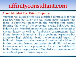 Mumbai Projects 91-9999684955 Mumbai Real Estate Project