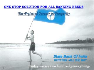 State Bank Of India WITH YOU - ALL THE WAY