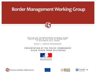 Border Management  Working Group