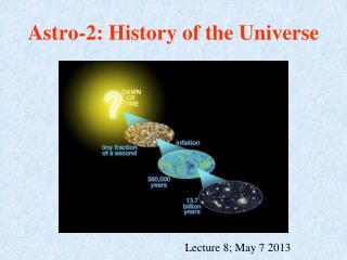 Astro-2: History of the Universe